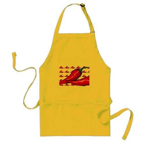 Apron - Hot Chili Peppers apron