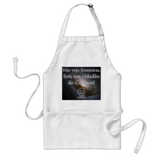 Apron I am a citizen of the Cosmos