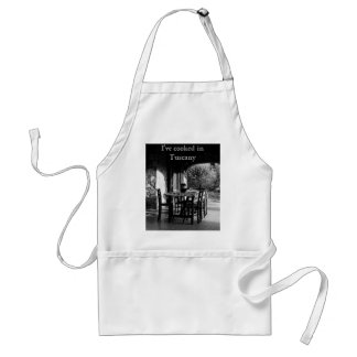 Apron: I've cooked in Tuscany Adult Apron