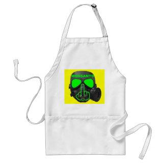 Apron Monsanto Gas Mask Flip