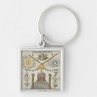Apron of a Master of Saint-Julien Lodge in Key Chains