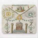 Apron of a Master of Saint-Julien Lodge in Mousepads