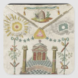 Apron of a Master of Saint-Julien Lodge in Stickers