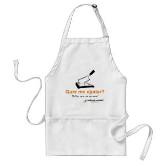 Apron: Or to help me? Then skirt of the kitchen! Adult Apron