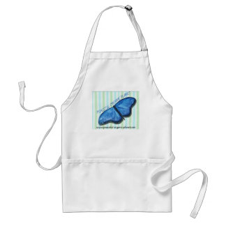 Apron - Peaceful Organic Planet Butterfly