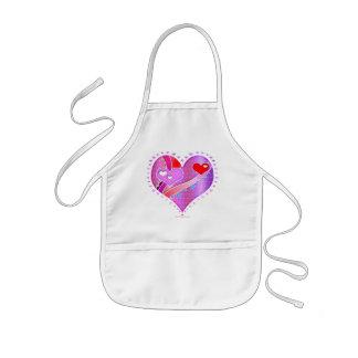 Apron - Pink Heart, Valentine
