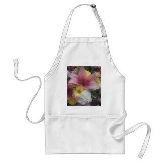 Apron Pink Lily Beauty