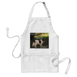 Apron Poem Any Dogs Dream By Ladee Basset