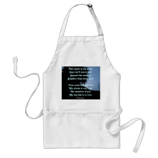 Apron Poem Ode To Dogs By Ladee Basset