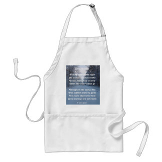 Apron Poem Snow Journey By Ladee Basset