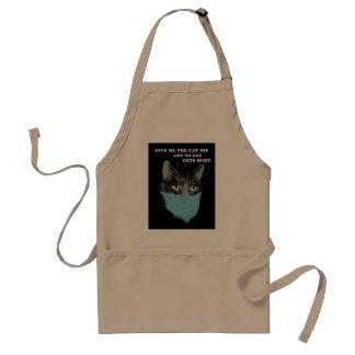 apron - stuff on my cat