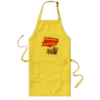 Apron - Thanksgiving Turkey Run