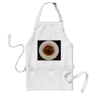 apron- try my italian meatballs adult apron