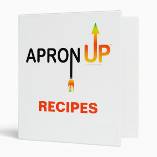 APRON UP! RECIPE BINDER