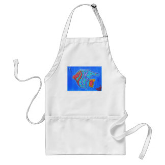 Apron-Vibrant Tropical Fish Adult Apron