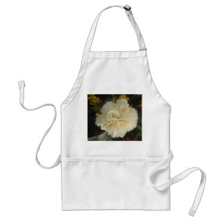 Apron White Carnation Beauty