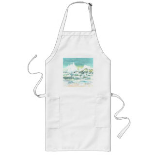 Apron with a painting of a Beach Shoreline