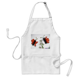apron with butterflies