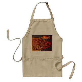 Apron with Colorful Fish