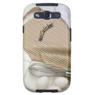 Apron with eggs and whisk samsung galaxy SIII covers