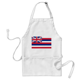 Apron with Flag of Hawaii, U.S.A.