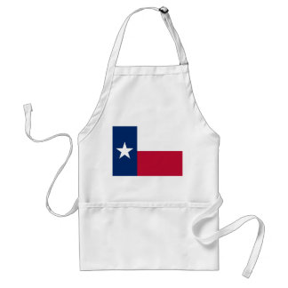 Apron with Flag of Texas, U.S.A.
