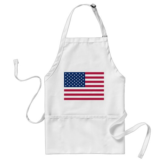 Apron with Flag of United States of America