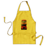 Apron with London Bus Image