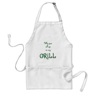 Apron with Quote