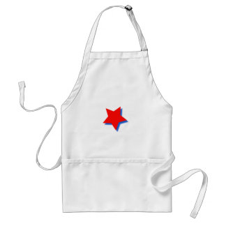 Apron with Red Star