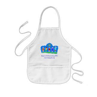 Aprong del niño elemental de la Pta de Hopewell Delantal Infantil