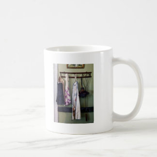 Aprons and Feather Duster Coffee Mug