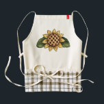 """Aprons for a Cause Sunflower<br><div class=""""desc"""">Summer and Autumn Sunflowers are pretty, and now you can have an apron with a Sunflower design while doing your important part to support a good cause! Makes a great gift, too. Ordering is safe, simple, fast, and fun. Like us: facebook.com/ShopJandL Be sure to browse all of our stores here...</div>"""