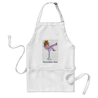 Aprons - Girl in a Martini Glass, Lil Red