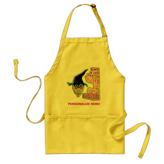 Aprons - Halloween Witch