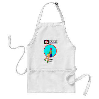 APRONS PIN-UP GIRL vintage 1950
