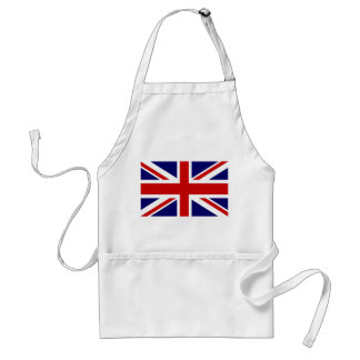 Aprons with British Union Jack flag