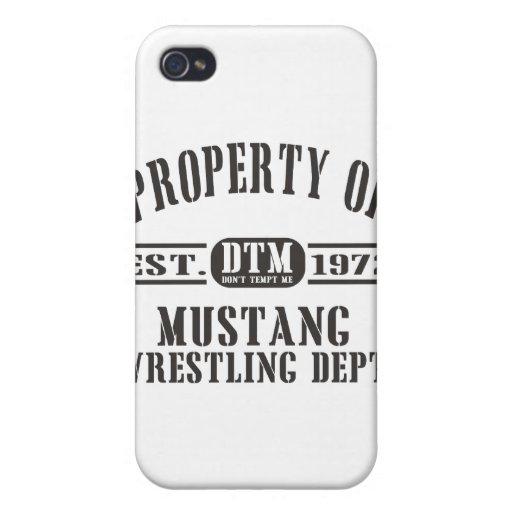 ¡Apropiación del mustango! iPhone 4 Fundas