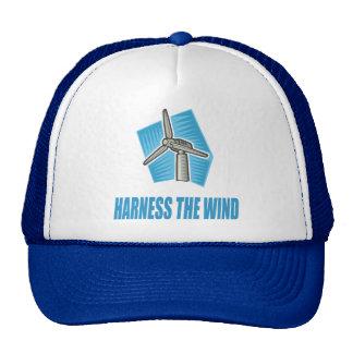 Aproveche el viento gorras de camionero
