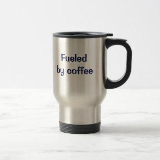 Aprovisionado de combustible por el café taza térmica