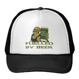 Aprovisionado de combustible por la cerveza gorras