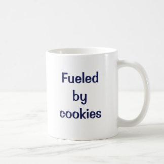 Aprovisionado de combustible por las galletas taza