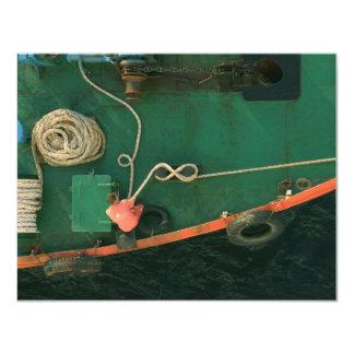"""Aprovisionar de combustible la nave en Estambul Invitación 4.25"""" X 5.5"""""""