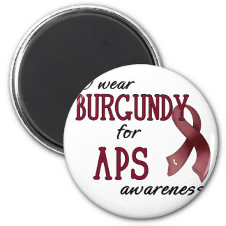 APS Awareness Items 2 Inch Round Magnet