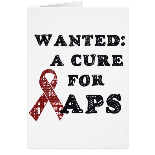 APS Awareness Items Card