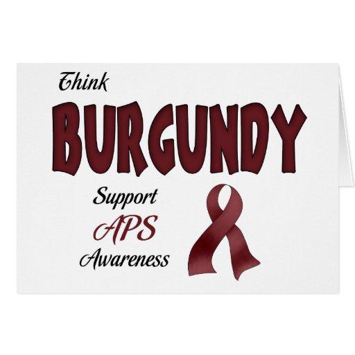 APS Awareness Items Cards