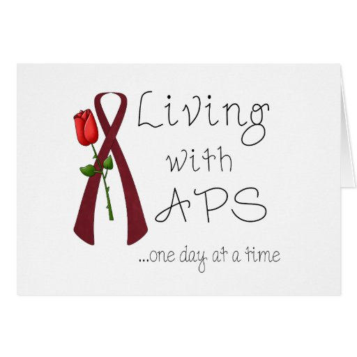 APS Awareness Items Greeting Cards
