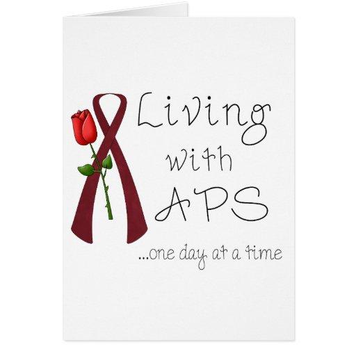 APS Awareness Items Greeting Card
