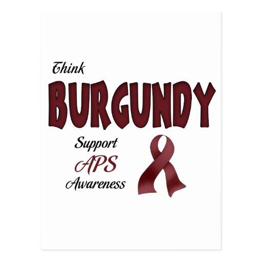APS Awareness Items Post Card