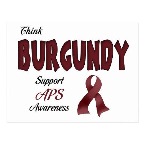 APS Awareness Items Post Cards